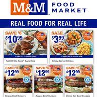 M & M Food Market - Weekly Specials Flyer