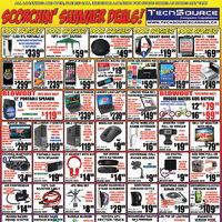 Tech Source - Scorching Hot Deals! Flyer