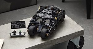 [] LEGO's New Batmobile is Inspired by the Tumbler