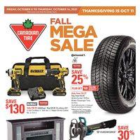 - Weekly - Fall Mega Sale Flyer