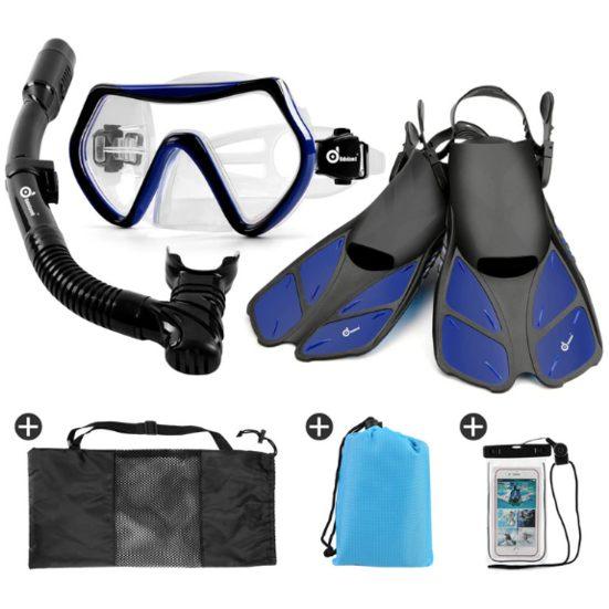 7. Also Consider: Odoland Snorkel Set 6-in-1 Snorkeling Packages