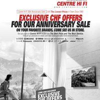 Centre HIFI - Weekly Deals Flyer
