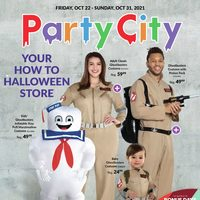 Party City - Weekly Deals - Your How To Halloween Store Flyer