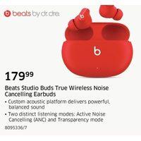 Beats Studio Buds True Wireless Noise Cancelling Earbuds