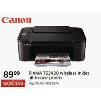Canon Pixma TS3420 Wireless Inkjet All-in-one Printer