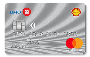 Shell®†† CashBack MasterCard®* from BMO®