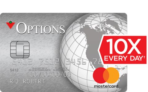 Canadian Tire Options MasterCard®