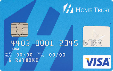 Compare best prepaidsecuredcharge cards in canada redflagdeals home trust secured visa card reheart Gallery