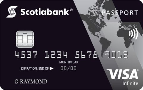 Scotiabank PassportTM Visa Infinite* Card