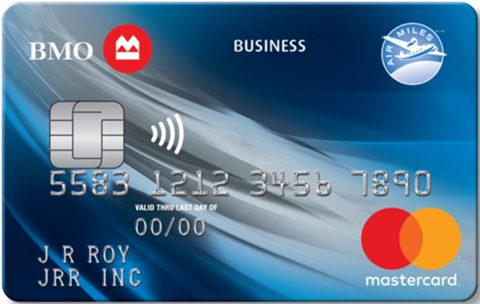 BMO® AIR MILES®† No-Fee Business® Mastercard®*