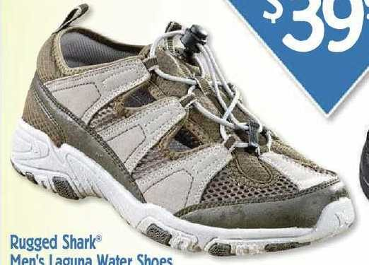 933d0dc56ccd Bass Pro Shops Rugged Shark Laguna Water Shoes For Men - Olive gray -   39.97 (33% off) Rugged Shark Laguna Water Shoes For Men - Olive gray -   39.97