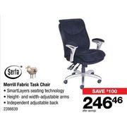 Serta Merrill Fabric Task Chair   $246.46 ($10.00 Off)