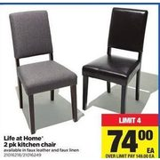 At Home Kitchen Chairs.Real Canadian Superstore Life At Home 2 Pk Kitchen Chair