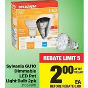 Sylvania GU10 Dimmable LED Pot Light Bulb  - $6.00 off