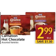 Carnation Hot Chocolate  - $2.99/10 ct ($1.30 off)