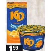 Kraft Dinner Specialty Flavours/Shapes  - $1.99