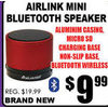 Airlink Mini Bluetooth Speaker - $9.99