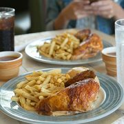 image relating to Sports Chalet Printable Coupons identified as Swiss Chalet Coupon codes: 2 Quarter Chook Dinners $18 (Dine-within