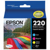 EPSON DURABrite Ultra T220 Colour Ink 4-Pack - $51.99