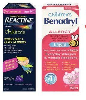 Rexall: Children's Reactine, Jr Fast Melts, Childrens
