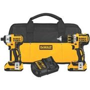 Dewalt Xr 20v Max Li-ion Brushless Compact Drill & Impact Driver Combo Kit - $279.99 ($120.00 Off)