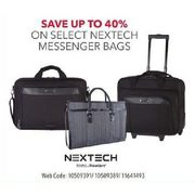 Select Nextech Messenger Bags - Up to 40% off