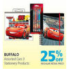 Buffalo Assorted Cars 3 Stationery Products - 25% off