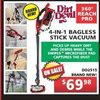 Dirt Devill 4-in-1 Bagless Stick Vacuum - $69.98