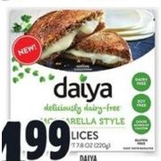 Daiya Cheese Style Slices - $4.99