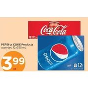 Pepsi Or Coke Products - $3.99