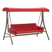 3-Seater Red Day Bed Swing  - $349.00 ($50.00 off)