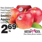 Fresh Sweet And Crunchy Smitten Apples - $2.69/lb