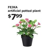 Fejka Artificial Potted Plant - $7.99