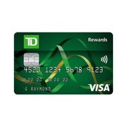 Td Visa Rewards >> Td Rewards Visa Card Receive 5 000 Td Rewards Points