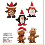Animated Christmas Decor - 15% off