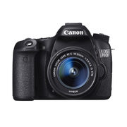 Canon Eos 70d W/ Ef-s18-55mm F3.5-5.6 Is Stm (Used) - $669.99