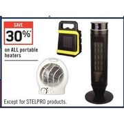 All Portable Heaters  - 30% off