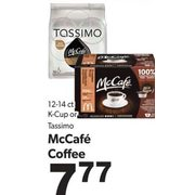 K-Cup or Tassimo McCafe Coffee - $7.77