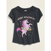 Graphic Short-sleeve Tee For Toddler Girls - $10.00 ($1.99 Off)