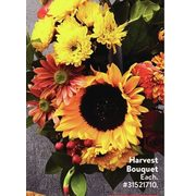 Harvest Bouquet  - $15.00