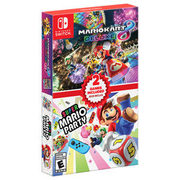Mario Kart 8 Deluxe + Super Mario Party Double Pack - $129.99