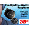 Bose Soundsport Free Wireless Headphones - $249.00
