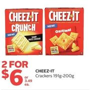 Cheez-It Crackers  - 2/$6.00