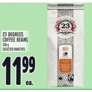 23 Degrees Coffee Beans - $11.99