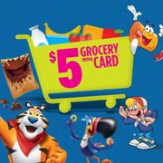 Kellogg's Cash for Groceries: Get a FREE $5.00 Grocery Prepaid Card with Two Boxes of Select Cereal